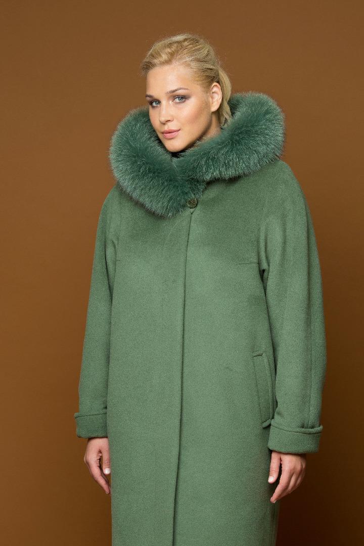 Купить пальто женское большого размера