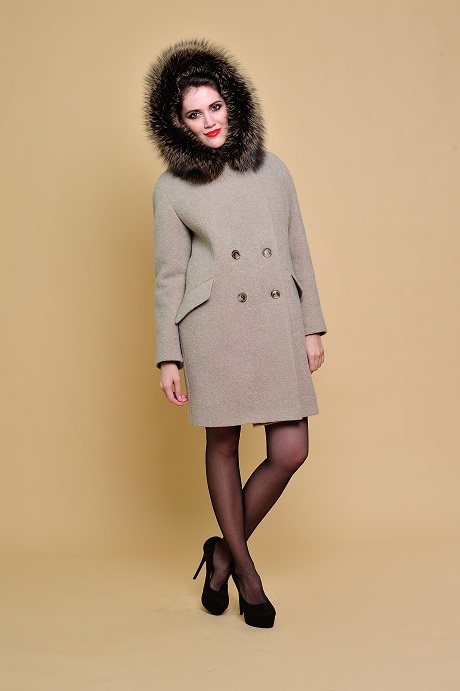 Зимнее пальто женское купить от производителя в Москве. Пальто ... 0ca9f69862e99
