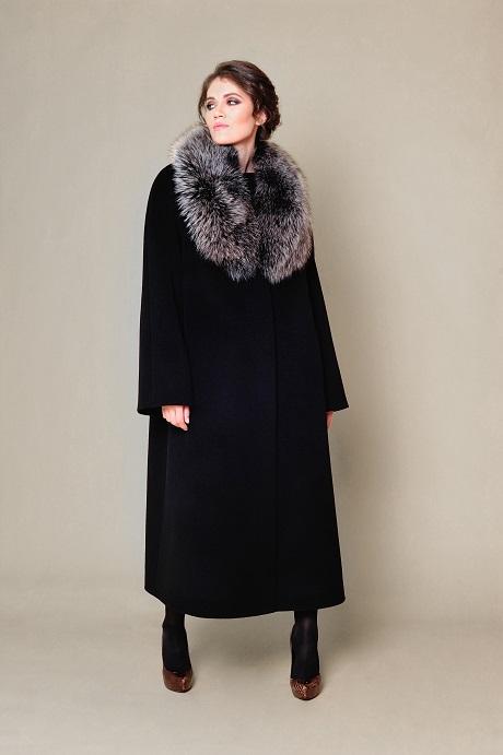 226560dd9d0 Купить зимнее пальто с меховым вортником №745 по низкой цене в Москве